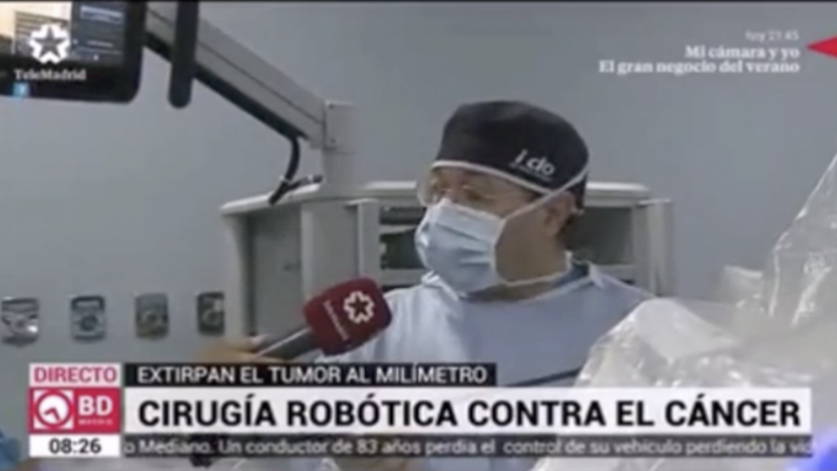 Dr. Sánchez de la Muela en Buenos Días Madrid