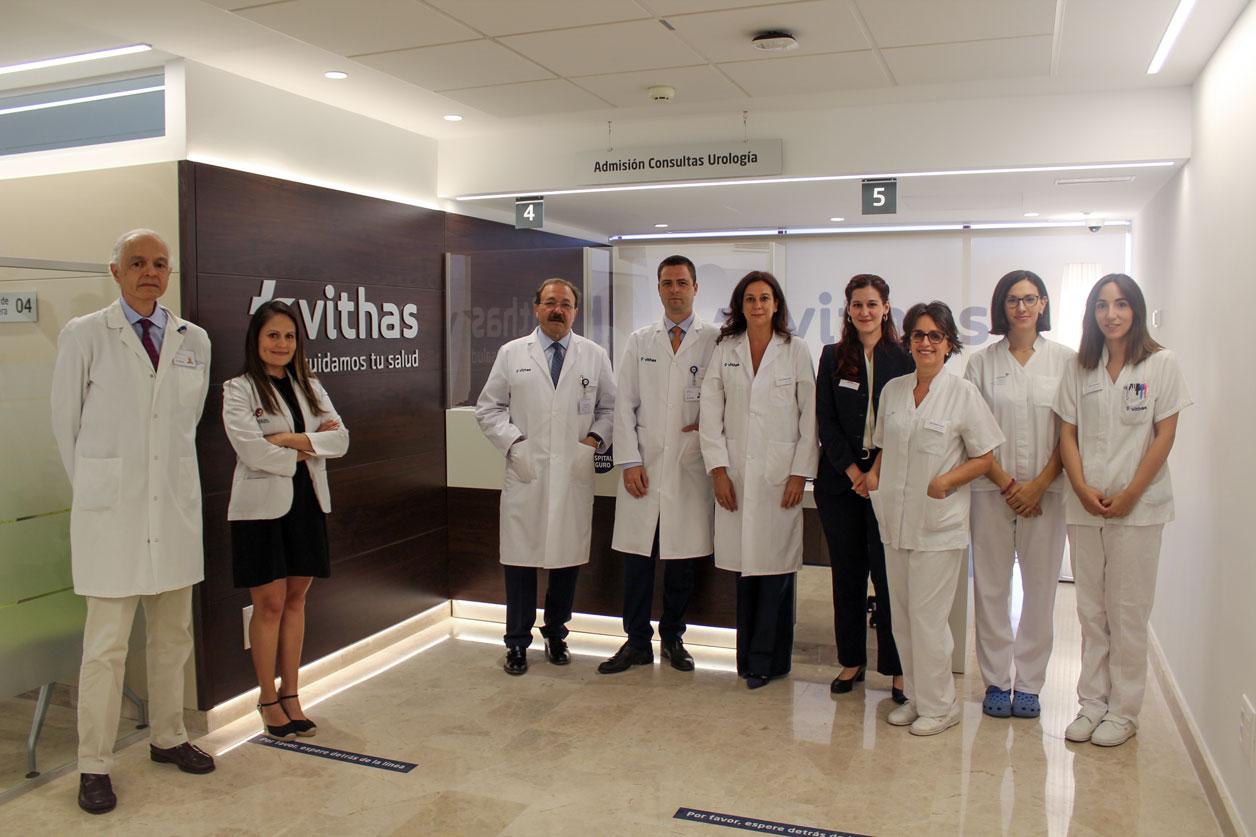 equipo de urologia